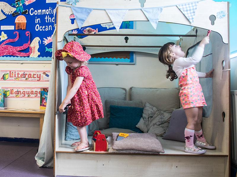 Kirkburton Pre-School Indoor Play