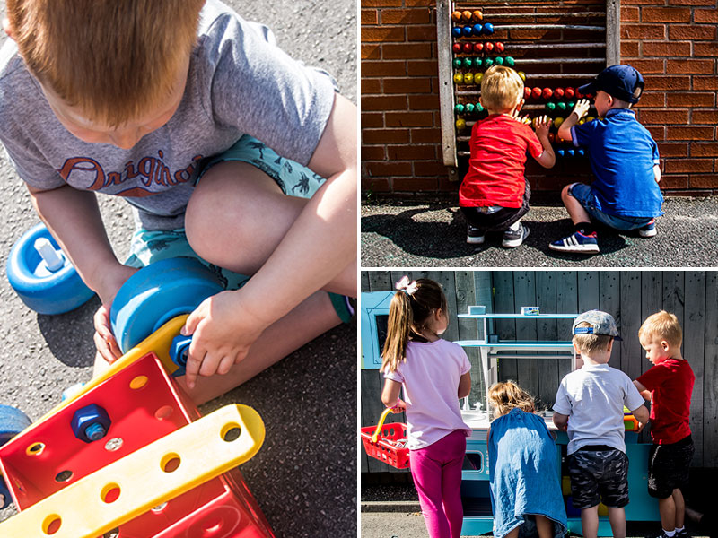 Learning through play at Kirkburton Pre-School
